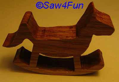 Rocking horse patterns for custom rocking horses with satisified
