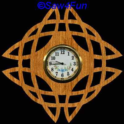 Scroll Saw Clock Patterns Free Download