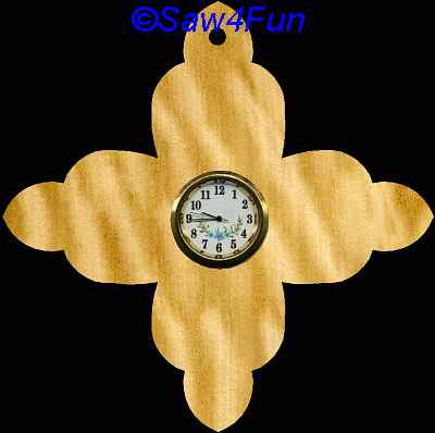 Wildwood Designs Scroll Saw Clock Parts
